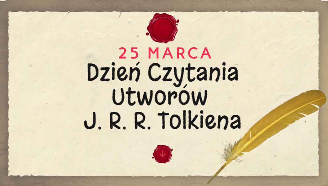 25 marca – Światowy Dzień Czytania Tolkiena