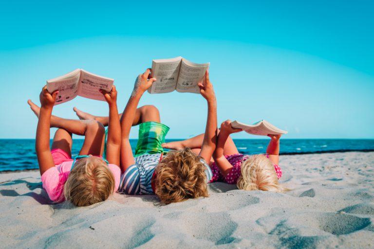 Najlepsze książki dla dzieci na wakacje