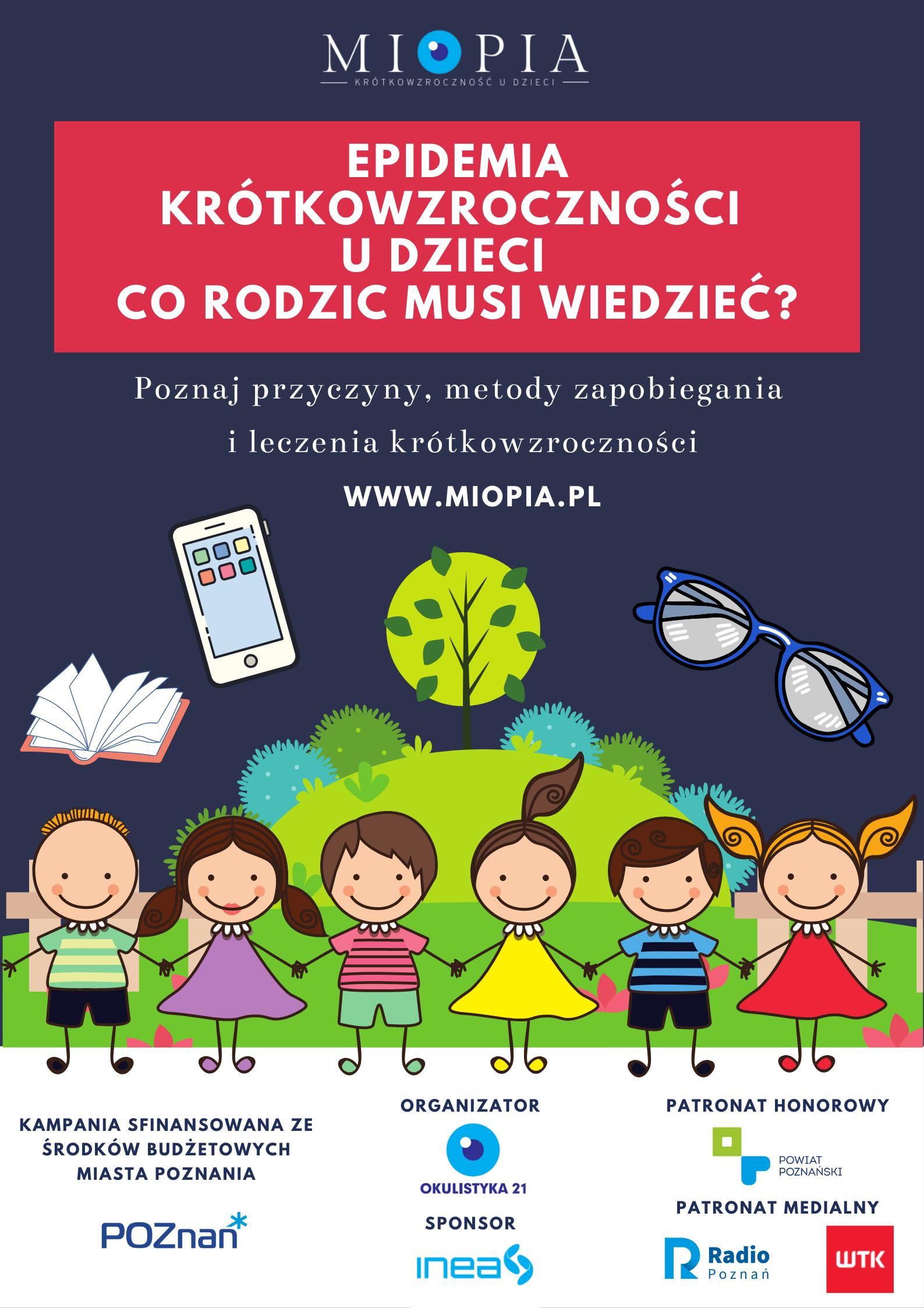 Kampania edukacyjna dot. krótkowzroczności
